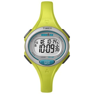 Timex Women's Ironman Essential 30 Lime Resin Strap Watch