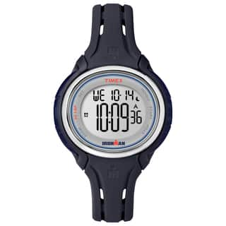 Timex Women's TW5K905009J Ironman Sleek 50 Blue Watch|https://ak1.ostkcdn.com/images/products/11006899/P18024997.jpg?impolicy=medium