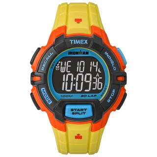 Timex Men's TW5M023009J Ironman Rugged 30 Yellow Color Block Watch