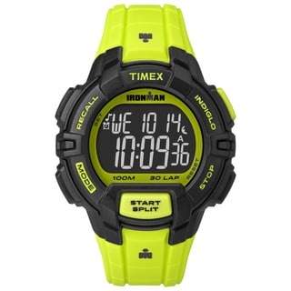 Timex Men's TW5M025009J Ironman Rugged 30 Neon Green Watch