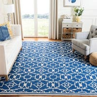 Safavieh Hand-Hooked Four Seasons Navy / Ivory Rug - 8' x 10'