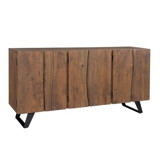 Christopher Knight Home Wood and Metal Loft Mid-century Style Sideboard
