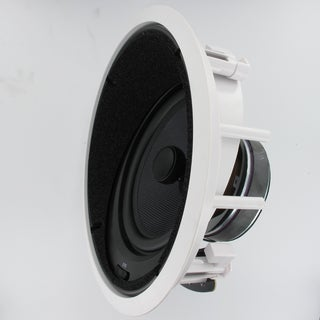 Theater Solutions TSS8A In Ceiling 8-inch Surround Sound HD Home Theater Angled Speaker 400 Watts