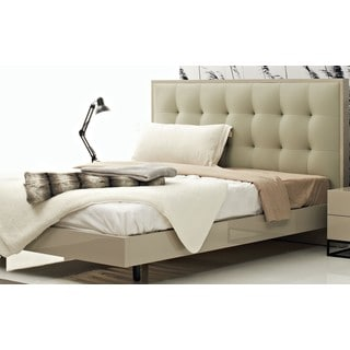 Devitto Queen Bed with Tufted Headboard