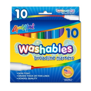 Broadline Washable Markers (10-pack)