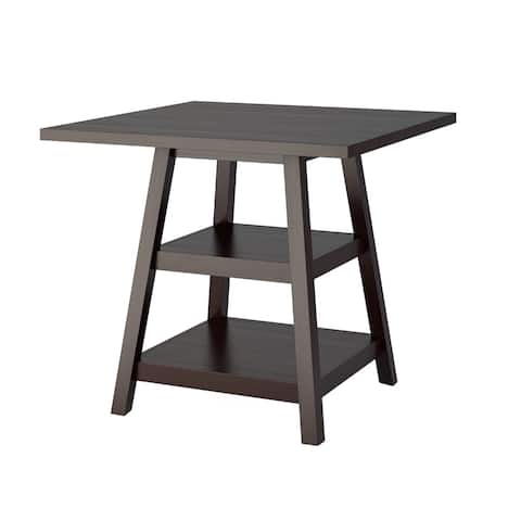 Carson Carrington Fettsater 36-inch Counter Height Cappuccino Dining Table