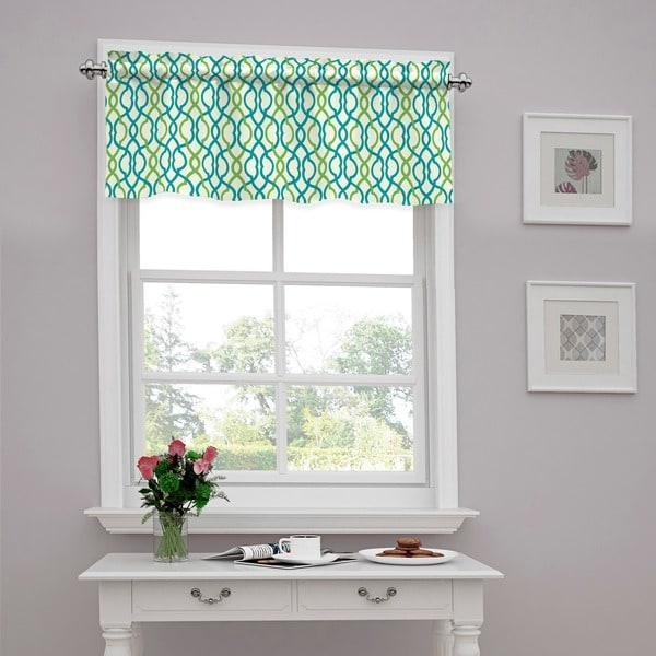 Traditions By Waverly Make Waves Tailored Window Valance 52x16
