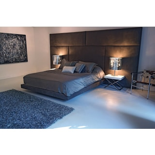 Decenni Modern Panello Panel Headboard and Platform Bed