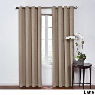 Eclipse Round and Round Blackout Window Curtain Panel (More options available)