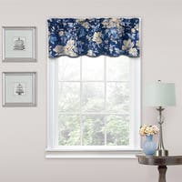 Traditions by Waverly Forever Yours Floral Window Valance - 52x16