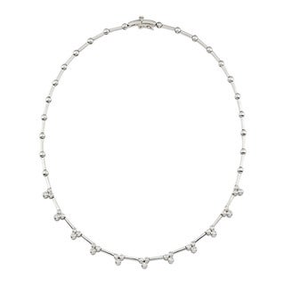 Kabella Luxe 14k White Gold 1 1/4ct TDW Diamond Necklace (G-H, SI1-SI2)