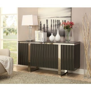 Christopher Knight Home Charcoal Grey Four Door Credenza