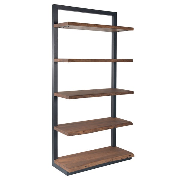 Christopher Knight Home Wood and Metal Bookcase