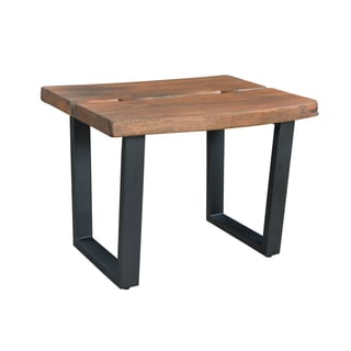 Christopher Knight Home Wood and Metal End Table