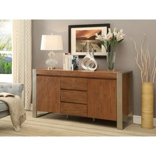 Christopher Knight Home Wood and Metal Media Credenza