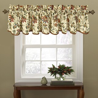 Waverly Felicite Cotton Window Valance (Option: Crème)