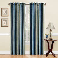 Traditions by Waverly Stripe Ensemble Curtain Panel - 52x84