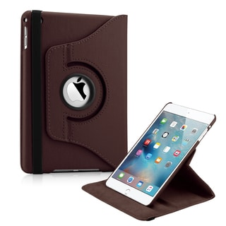 Gearonic 360 Degree Rotating Leather Case Cover for Apple iPad Mini 4