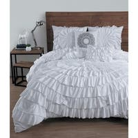 Maison Rouge Borges Ruffled 5-piece Comforter Set