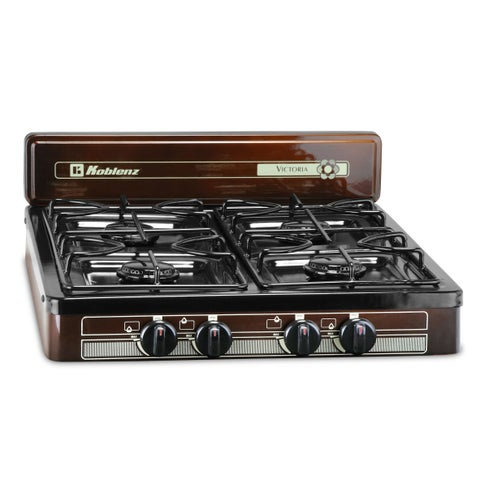 Koblenz 4-burner Steel and Porcelain Outdoor Stove Top