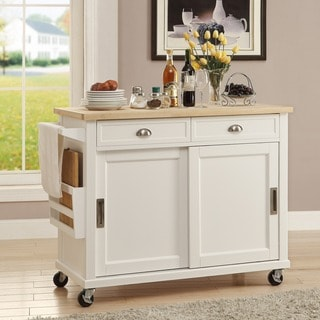 Linon Angel Kitchen Cart