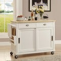 Linon Angel Kitchen Cart