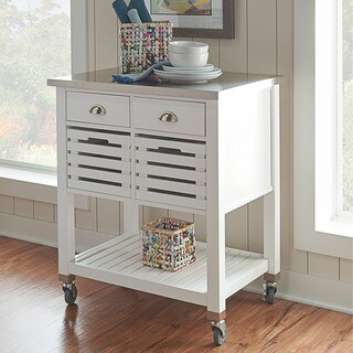 The Gray Barn Winfield Kitchen Cart