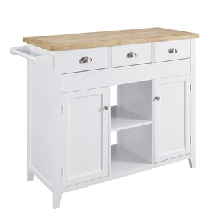 Copper Grove Pawnee Kitchen Cart