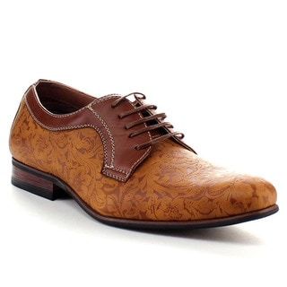 FERRO ALDO MFA-19380BL Men's Pattern Stitching Dress Shoes