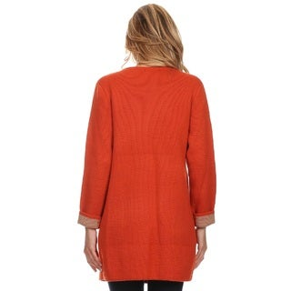 High Secret Women's Color Block Cardigan