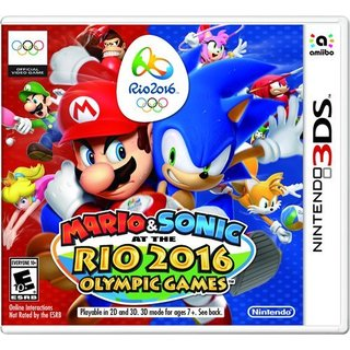 MARIO & SONIC AT THE RIO 2016 OLYMPIC GAMES -Nintendo 3DS