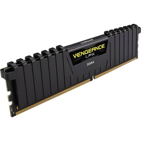 Corsair Vengeance LPX 128GB (8x16GB) DDR4 DRAM 2666MHz C16 Memory Kit - Black