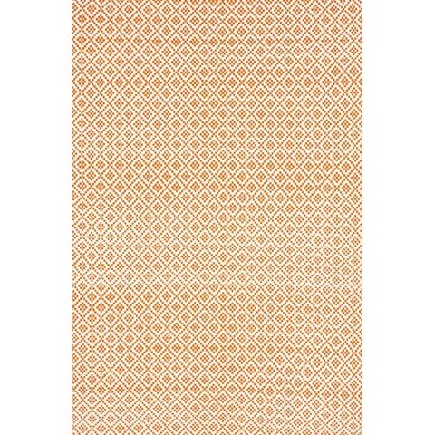 nuLOOM Handmade Flatweave Geometric Cotton Area Rug