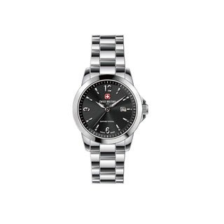 Swiss Military by R 50503 3 N Alpha Men's Black Dial Swiss Made Watch with pocket military knife