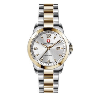 Swiss Military by R 50503 357J A Alpha Two-Tone Stainless Steel Watch with pocket military knife