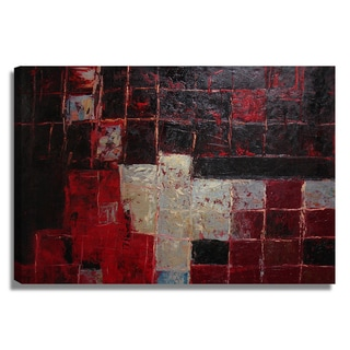 'Abstract Geometric' 24x36 Modern Original Oil Painting Canvas Wall Art