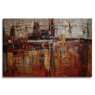 'Modern Abstract' 24x36 Abstract Modern Original Oil Painting Canvas Wall Art