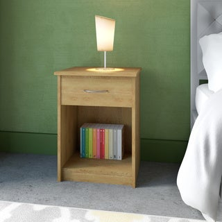 Altra Core Bank Alder Nightstand