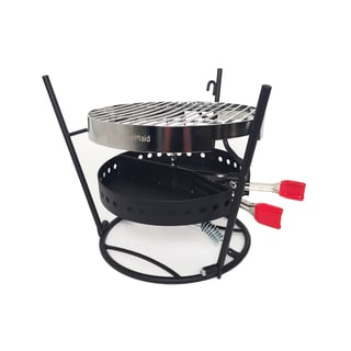 CampMaid 3-Piece Grill and Smoker Combo Set