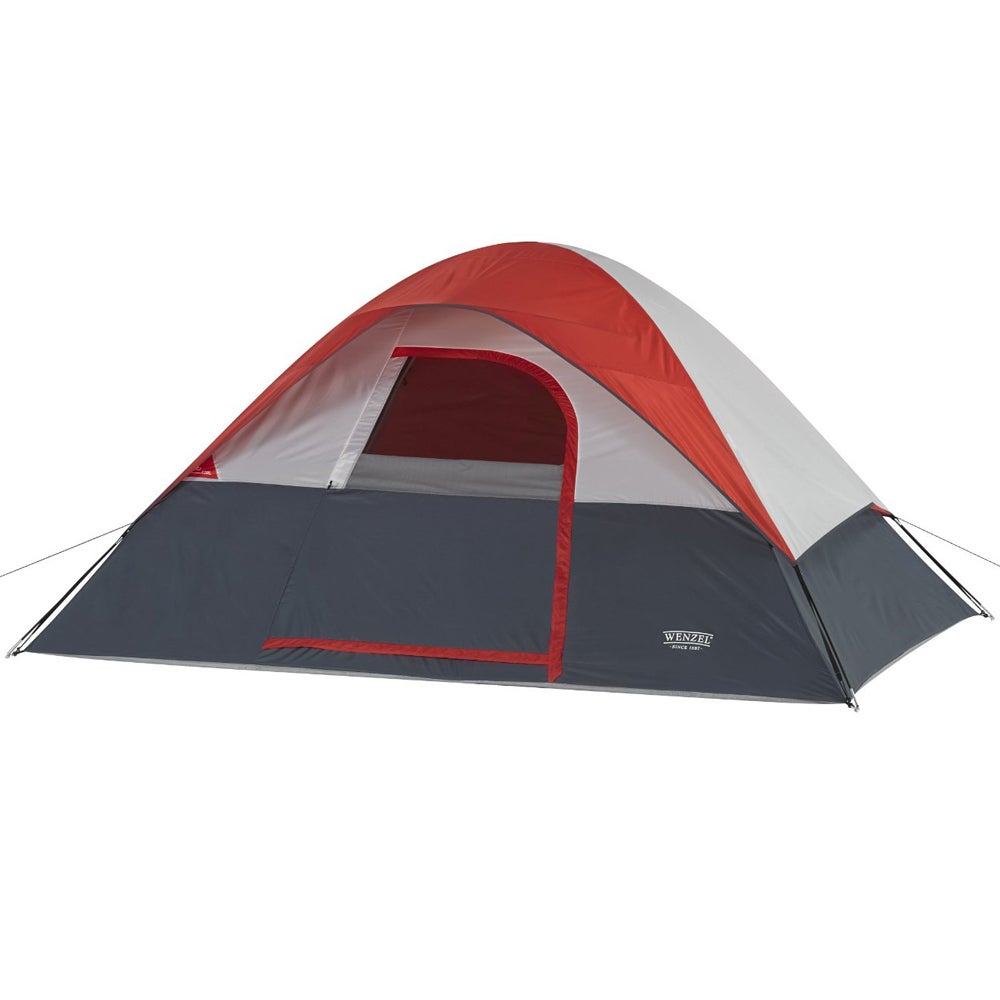 Wenzel 5 Person Dome Tent (Wenzel Dome Red), Multi