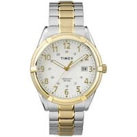 Timex Men's  Easton Avenue Two-Tone Stainless Steel Expansion Band Watch