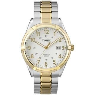 Timex Men's TW2P893009J Easton Avenue Two-Tone Stainless Steel Expansion Band Watch