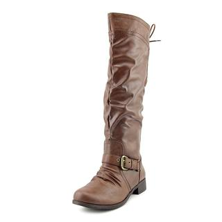 XOXO Women's 'Marcher' Faux Leather Boots