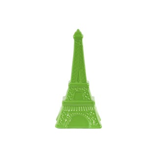 Ceramic Gloss Finish Green Large Eiffel Tower Figurine