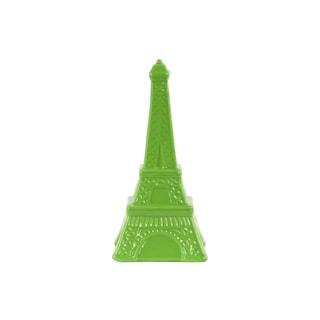 Ceramic Gloss Finish Green Large Eiffel Tower Figurine