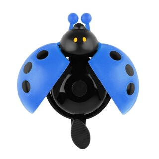 Ladybug Bike Bell (Option: Blue)