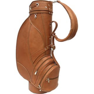 Piel Leather Deluxe 9 inch Golf Bag|https://ak1.ostkcdn.com/images/products/11016871/P18033597.jpg?impolicy=medium