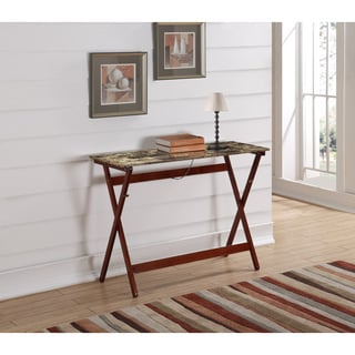 Linon Eve Folding Console Table