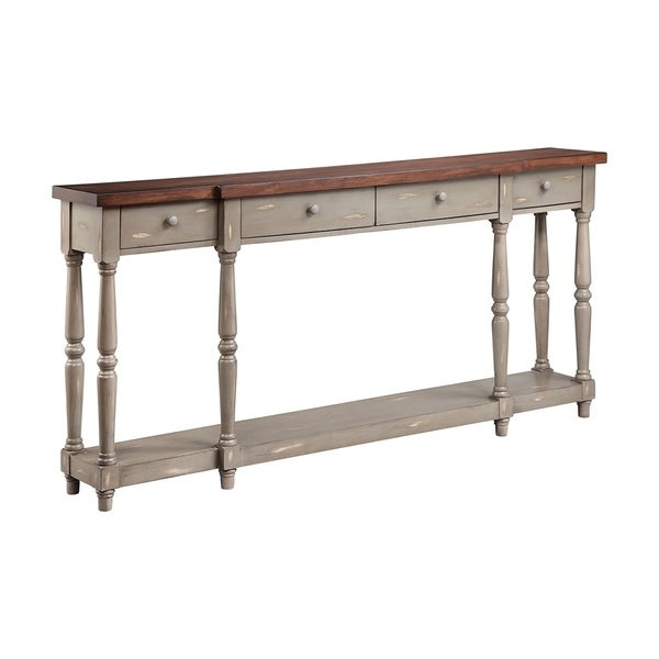 Simpson four drawer console free shipping today
