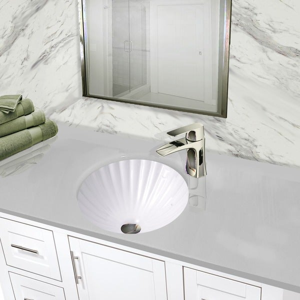 round undermount bathroom sink shop highpoint collection 12 inch white bathroom 20240